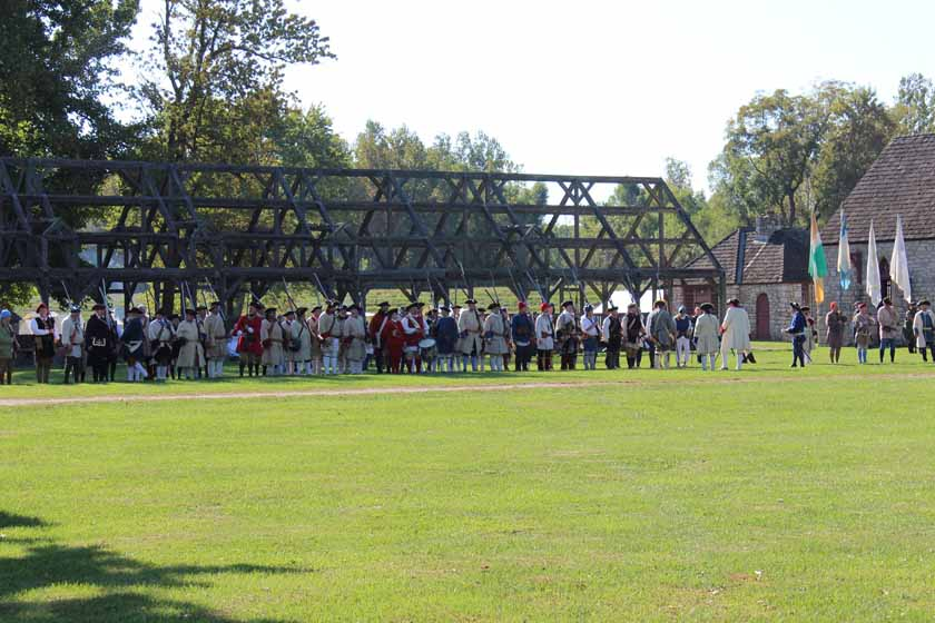 Fort de Chartres Opening Ceremony, 2015